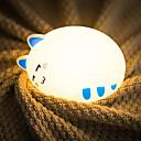 baratos Frascos e Caixas-1pç Luz da Noite de Berçário / Luzes da Noite para Bebés e Crianças Branco Quente / Branco Frio USB Para Crianças / Desenho Animado / Com porta USB <5 V