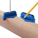 baratos Cobertura de Cadeira-Localizador de linha scriber linha 64mm medidor de marcação com ímã 7 / 16in-1 / 16in 1 / 8in-1 / 2in centro escriba de deslocamento para ferramentas de trabalho em madeira