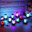 Χαμηλού Κόστους lip gloss-12pcs Διακοσμητικός φωτισμός Πολύχρωμα Button Powered Battery Για παιδιά / Δημιουργικό / Διακοσμητικό Μπαταρίες Powered
