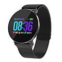 Χαμηλού Κόστους Έξυπνα Ρολόγια-Έξυπνο ρολόι Ψηφιακό Μοντέρνο Στυλ Αθλητικό 30 m Ανθεκτικό στο Νερό Συσκευή Παρακολούθησης Καρδιακού Παλμού Bluetooth Ψηφιακό Καθημερινό Υπαίθριο - Μαύρο Χρυσό Ασημί