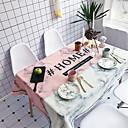 billige Hårpleie og styling-Fritid Bomull Kvadrat Duge Mønstret Vannavvisende Borddekorasjoner