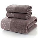 billige Vaskehåndklæ-Overlegen kvalitet Badehåndkle Sett, Ensfarget / Reaktivt Trykk 100% bomull 1 pcs