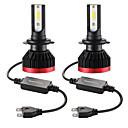 billiga LED-lampor för bil-2 st mini led lampa bil strålkastare h7 100w 20000lm 6000k bil strålkastare ip67 vattentät plugg och spela perfekt snabb och enkel installation genom att ansluta och byta ut glödlampor