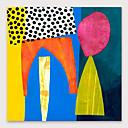 povoljno Apstraktno slikarstvo-Hang oslikana uljanim bojama Ručno oslikana - Sažetak Moderna Uključi Unutarnji okvir