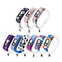baratos Acessórios para ferramentas de cozinha-pulseira de silicone pulseira para garm vivofit jr2 vivofit 3 atividade rastreador substituição grande / pequeno relógio esportivo pulseira banda