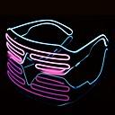 billige Vin Tilbehør-1 stk led lysbriller halloween fargerike neon julebord bril flash glass solbriller ferie forsyninger
