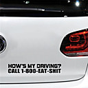 billige Automotive Kroppsdekorasjon og beskyttelse-reflekterende biler for utskrift av klistremerke