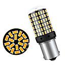 זול אורות בלימה-4pcs 1,156 / 7440 מכונית נורות תאורה 22 W SMD 3014 144 LED תאורת איתות / אורות בלימה / היפוך (גיבוי) האורות עבור אוניברסלי כל השנים