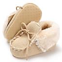 Χαμηλού Κόστους Παιδικές μπότες-Αγορίστικα / Κοριτσίστικα Πρώτα Βήματα Βαμβάκι Μπότες Βρέφη (0-9m) / Νήπιο (9m-4ys) Λευκό / Γκρίζο / Ροζ Χειμώνας