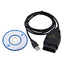 billige OBD-vag409.1 vag - com beesclover obd2 usb kabel vag-com kkl 409.1 auto scanner scan tool for audi vw sete black- kkl409 ft232rl chip usb test line for audi fiat 1m