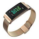 ราคาถูก Smartwatches-ดูสมาร์ท ดิจิตอล สไตล์สมัยใหม่ กีฬา 30 m กันน้ำ ตรวจสอบอัตรการเต้นของหัวใจ Bluetooth ดิจิตอล ไม่เป็นทางการ ภายนอก - สีดำ สีทอง สีเงิน