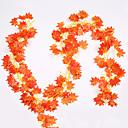 baratos Utensílios para Confeitaria-1 pc simulação folha de uva verde tridimensional rabanete grande folha de flor falsa teto de vime verde videira engenharia decoração videira sótão teto restaurante sala de estar decoração flor planta