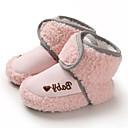 Χαμηλού Κόστους Παιδικές μπότες-Αγορίστικα / Κοριτσίστικα Πρώτα Βήματα Σουέτ Μπότες Βρέφη (0-9m) / Νήπιο (9m-4ys) Καφέ / Γκρίζο / Ροζ Χειμώνας