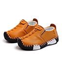 ราคาถูก รองเท้าแตะเด็ก-เด็กผู้ชาย / เด็กผู้หญิง สำหรับการเดินครั้งแรก Microfibre รองเท้าส้นเตี้ย เด็กวัยหัดเดิน (9m-4ys) ขาว / สีดำ / สีเหลือง ตก