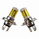 Χαμηλού Κόστους Φώτα φρένων-otolampara 80w σούπερ λαμπερό κίτρινο φως μοτοσικλέτας προβολέας λαμπτήρα pk43t 2 τεμάχια