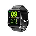 baratos Cosplay Para o Dia a Dia-kimlink 116 plus homens mulheres smartwatch android ios bluetooth tela sensível ao toque à prova d 'água monitor de freqüência cardíaca medidor de pressão arterial esportes temporizador pedômetro