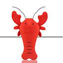 billiga Fiskekrokar-Interaktivt Mjukdjur Pipande leksaker Kattleksak Hundleksak Husdjur Leksaker gnissla Textil Present