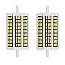 billige LED-stringlys-2pcs 10 W LED-kornpærer 1000 lm R7S 81 LED perler SMD 5733 Nytt Design Varm hvit Hvit 85-265 V