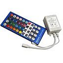 billige 3D Nattlamper-1pc 12-24 V Fjernstyrt / GDS / Dekorasjon Plast Kontroller for RGB LED Strip Light / for LED Strip lys 2 W