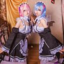 povoljno Anime kostimi-Inspirirana Re: Zero - početak života u drugom svijetu Cosplay Anime Cosplay nošnje Japanski Cosplay Suits Top / Suknja / Rukavi Za Žene / Čarape / Korzeti / Šeširi / Hair Band