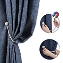 Χαμηλού Κόστους Δέστρε Κουρτίνας-μαγνητική μαργαριτάρι μπάλα κουρτίνα tiebacks γραβάτα πλάτη holdbacks πόρπη κλιπ αξεσουάρ κουρτίνα tieback