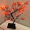 baratos Lâmpada Smart LED-1 pc led criativa folha de bordo modelagem em vasos luz da noite morna festa branca decoração da casa 220-240 v