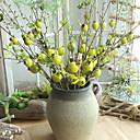 Χαμηλού Κόστους Σετ Κοσμημάτων-Ψεύτικα λουλούδια 1 Κλαδί Κλασσικό Μοντέρνα Φρούτα Λουλούδι για Τραπέζι