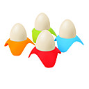 Χαμηλού Κόστους Βάζα & Κουτιά-3pcs βραστά αυγά κάτοχος αυγό φλιτζάνι πρωινό στοίβα ράφι εξυπηρετούν φλιτζάνια αυγό εργαλεία επιτραπέζια είδη ανάμεικτο χρώμα