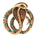 Χαμηλού Κόστους Αντρικά Βραχιόλια-Ανδρικά Κρυστάλλινο Καρφίτσες Κλασσικό Φίδι Δημιουργικό Ζώο Μοντέρνο Κλασσικό Βασικό Ροκ Μοντέρνα Καρφίτσα Κοσμήματα Χρυσό Ασημί Για Γάμου Καθημερινά Δρόμος Δουλειά Κλαμπ