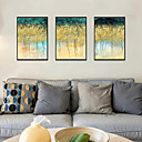 Χαμηλού Κόστους Εκτυπώσεις σε Κορνίζα-Εκτύπωση Τέχνης σε Κορνίζα Σετ σε Κορνίζα - Αφηρημένο Πολυστυρένιο Εικόνα Wall Art