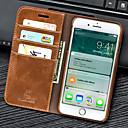 billiga iPhone-fodral-fodral Till Apple iPhone 8 Plus / iPhone 8 / iPhone 7 Plus Plånbok / Korthållare / med stativ Fodral Enfärgad PU läder