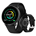 billige Smartklokker-ma4 smartklokke fullskjerm touch ip67 vanntett fitness tracker pulsmåler smartwatch for Android& ios telefon