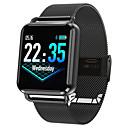 baratos Arandelas de Exterior-q3 relógio inteligente bt fitness rastreador suporte notificar&monitor de frequência cardíaca compatível com samsung / iphone / android phones