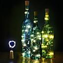 ราคาถูก ของประดับตกแต่งงานแต่งงาน-ไฟ LED พลาสติก เครื่องประดับจัดงานแต่งงาน คริสมาสต์ / ปาร์ตี้ Christmas / การแต่งงาน ทุกฤดู