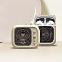billige Tilbehør til hodetelefoner-beskyttelsesdekke nørd& chic apple airpods støtsikker skrapesikker silisiumgummi
