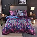 billige Moderne dynetrekk-dreamcatcher sengetøy sett til dyne fargerike dyre tegneserie dynetrekk med putevar dobbelt full queen king size barn nye