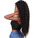 ราคาถูก วิกผมจริง-วิกผมจริง เต็มไปด้วยลูกไม้ วิก ฟรี Part สไตล์ ผมบราซิล หลวมโค้ง ดำ วิก 130% Hair Density ผู้หญิง สำหรับผู้หญิง ยาว วิกผมแท้ Clytie