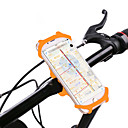 ราคาถูก Smartwatches-Mount 360° Rotation สำหรับ จักรยานใช้บนถนน จักรยานปีนเขา จักรยานพับได้ ซิลิโคน iPhone X iPhone XS iPhone XR จักรยาน สีดำ ส้ม สีเขียว