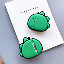 baratos Cortinas 3D-Capa protetora Nerd e Chique Airpods da Apple Antichoque À prova de riscos Borracha Silicone