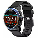 baratos Smartwatches-kospet optimus pro dual sistema de chip 3g32g 4g-lte telefone relógio amoled 8.0mp 800mah gps google play relógio inteligente - preto