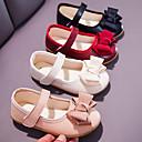 ราคาถูก รองเท้า LED-เด็กผู้หญิง ความสะดวกสบาย / รองเท้าสาวดอกไม้ Synthetics รองเท้าส้นเตี้ย เด็กวัยหัดเดิน (9m-4ys) / เด็กน้อย (4-7ys) ปมผ้า / หัวเข็มขัด สีดำ / ผ้าขนสัตว์สีธรรมชาติ / แดง ฤดูใบไม้ผลิ / ตก / พรรคและเย็น