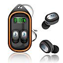 billige Vegglamper-bærbare x21s tws trådløs Bluetooth 5.0 øretelefoner nøkkelring headset digital skjerm automatisk tilkobling sportshøretelefoner