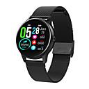 billige Vinglass-dt88 smartklokke bt fitness tracker support varsle / pulsmåler sport rustfritt stål smartwatch kompatibel iphone / samsung / android telefoner