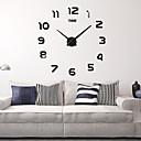"""Χαμηλού Κόστους Ράβδοι για πετσέτες-ρολόι τοίχου, μόδα diy ακρυλικό γύρο εσωτερικό 100 * 100cm (39&39"""")"""