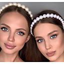 baratos Pulseiras Inteligentes-Imitação de Pérola / Liga Headbands / Tranças de cabelo em crochê com Perola Imitação 1 Peça Casamento / Ao ar livre Capacete