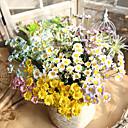 billiga Artificiell Blomma-Konstgjorda blommor 1 Gren Klassisk Rustik Traditionell / Klassisk Prästkragar Bordsblomma