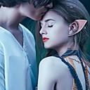 baratos Palmilhas-1 par luminoso misterioso anjo elfo orelhas fada acessórios cosplay festa de halloween látex macio apontado protético orelhas falsas