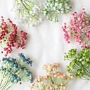 billiga Artificiell Blomma-Konstgjorda blommor 1 Gren Klassisk Fest Europeisk Brudslöja Bordsblomma
