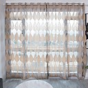 Χαμηλού Κόστους Διάφανες Κουρτίνες-Μοντέρνα Διαφανές Ένα Πάνελ Διαφανές Σαλόνι   Curtains