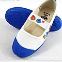 baratos Kids' Flats-Para Meninas Sapatos de Dança Lona Sapatilhas de Balé Sapatilha Sem Salto Vermelho / Azul